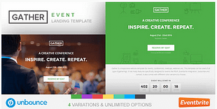 Unbounce Event Landing Page Template