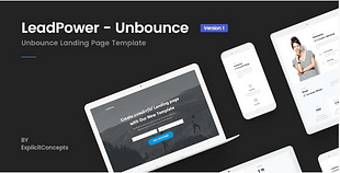 Unbounce Landing Page Template -
