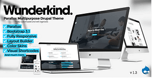 Wunderkind - One Page Parallax