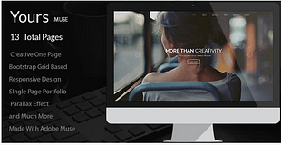 Yours - Creative Onepage Adobe