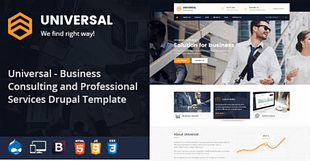 Universal - Consulting Business Drupal