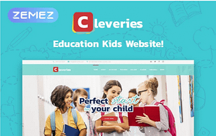 Cleveries - Education Kids Elementor