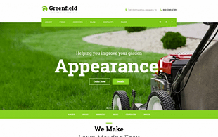 GreenField - Lawn Mowing Company
