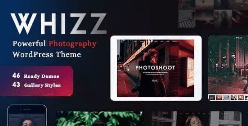 Whizz   Photography WordPress for