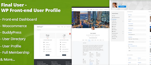 Final User - WP Front-end