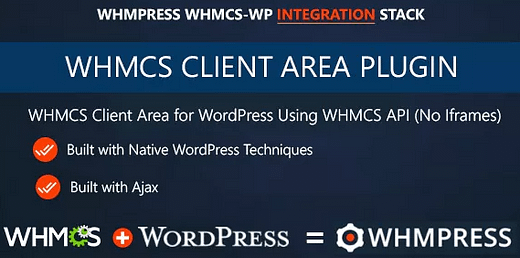 WHMPress - WHMCS Client Area