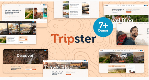 Tripster - Travel & Lifestyle
