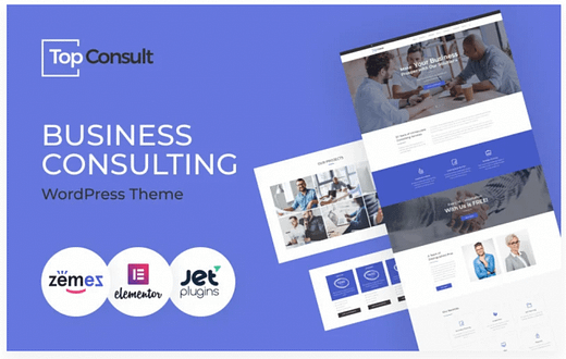 TopConsult - Business Consulting WordPress