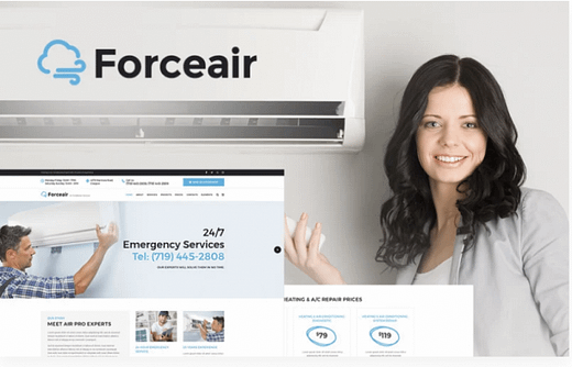 Forceair - Air Conditioner Services
